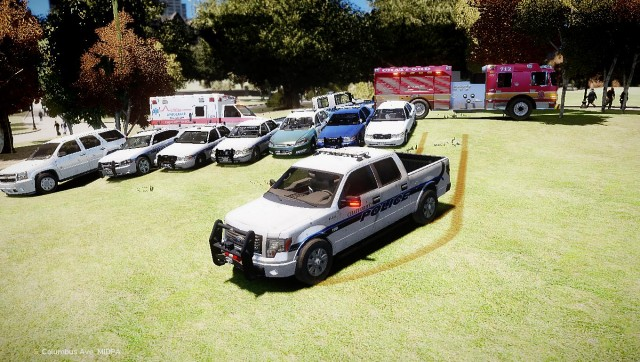 Emergency vehicles fleet