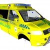 VW Transporter Norwegian Ambulance Edition WIP