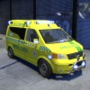 VW Transporter Norwegian Ambulance