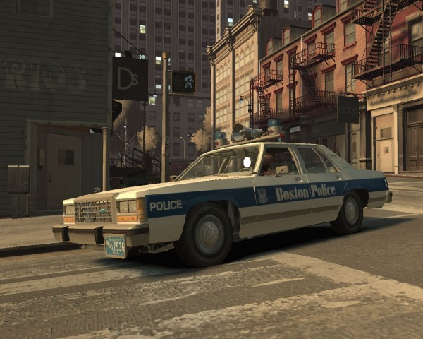 Boston Police Department Ford LTD Crown Victoria