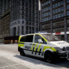 Norwegian Mercedes-Benz Vito (Front right corner view)