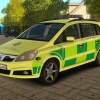 London Ambulance - Vauxhall Zafira Mk2 RRV