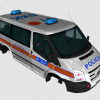 Met Police Ford Torneo Van (CONVERSION)