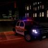 San Joaquin County Sheriff Tahoe w/ Code 3 X2100