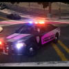 Liberty City Police Dodge Charger with Breast Cancer Awareness livery