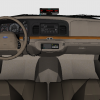 Full 3D Interior for DSF Crown Vic.