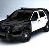 Ford Police Interceptor Utility Render