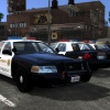 LASD Crown Victoria with red rambar lights