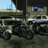 Police Bikes Based off of the 2012 Harley Davidson Road King Police Edition