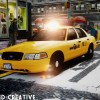 2010 New York City Taxi Ford Crown Victoria