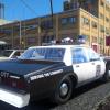 Patroling On Franklin St.