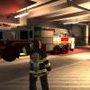 Ottawa Fire Department Ladder 11 in station