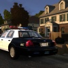 LAPD Crown Vic with a Code 3 MX-7000 lightbar