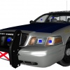 Start of a Alabama State Patrol CVPI
