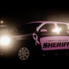 Liberty County Sheriff Breast Cancer Awareness Tahoe created by Fartknockr