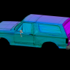 High Quality Templated Bronco via 3DS Max