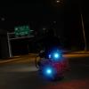 Polis Motosikal Responding