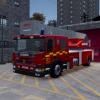 Scania 94D 310 Rosenbauer L32 Ladder Engine - WIP