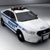 NYPD Ford Taurus Police Interceptor Render