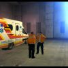 At An Ambulance Station