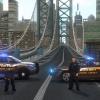 Virginia Arlington County Sheriff Police Road Block