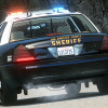 Ford Crown Victoria With Los Angeles County Sheriff Police Skin