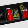Odyssey trunk organizer, handcuffs, ect.