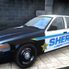 Liberty County Sheriff CVPI Texture