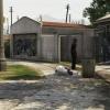 Crime scene of a fatal OIS
