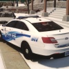 """2015 Ford Police Interceptor Sedan - """"Old Age Meets New Age"""" - Liberty Police - Federal Signal Signal Raydian 'Local' Package"""