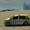 VW Golf - Norwegian Police Skin1