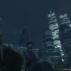 Night near the World Trade Center