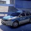 VW Passat Autobahnpolizei front