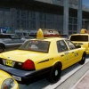 Taxis waiting for passengers