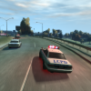 Police chase on the Dukes Expressway