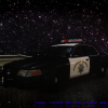 California Highway Patrol Ford Crown Victoria Police Interceptor - Federal Signal Vision Halogen