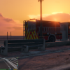 Firetrucks Sunset