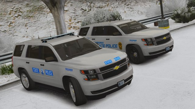 2015 Chevy Tahoe PPV- Virginia State Police
