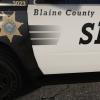 blaine county decal