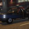 Sheriff Truck got a flat