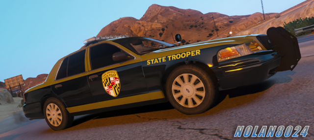 San Andreas State Police [2011 Crown Victoria Police Interceptor]