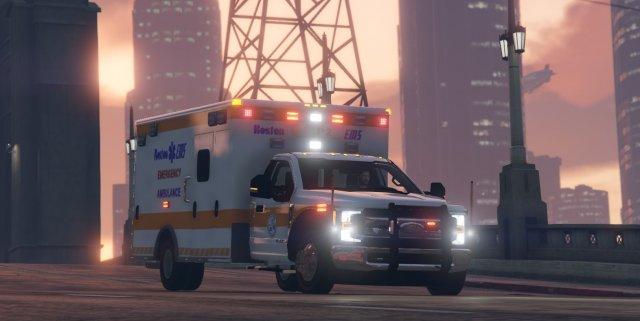 WIP F450 Ambulance - Boston EMS
