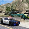 "LSSD AS332 ""Rescue 5"" at the crash scene"
